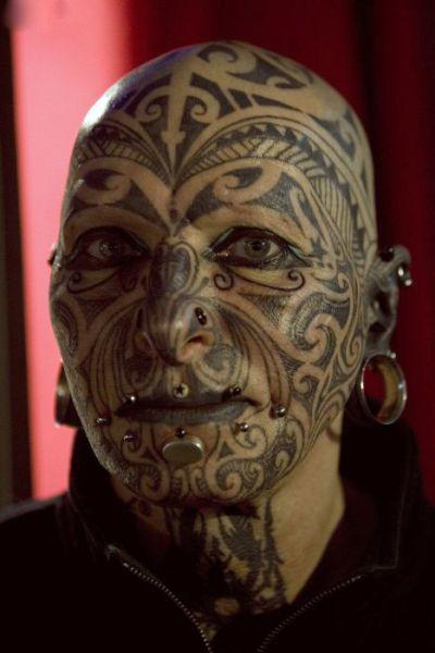 татуировки на голове (12)