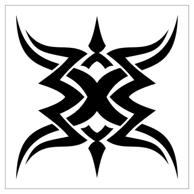 татуировки эскизы трайбл (8)