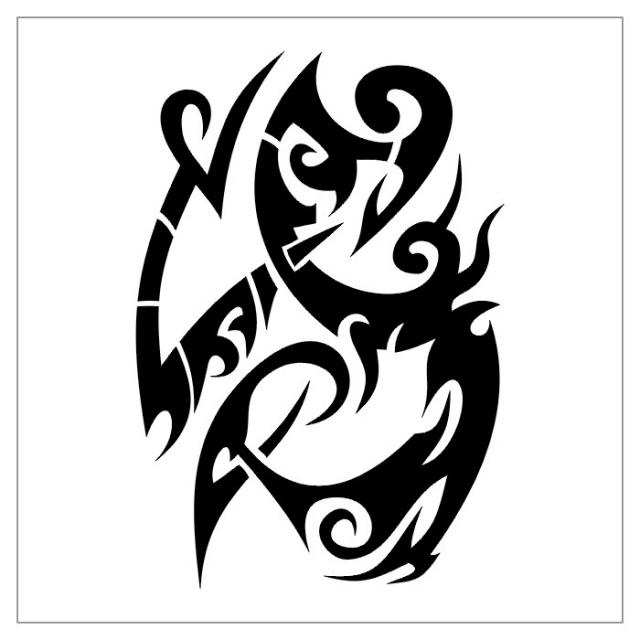 татуировки эскизы трайбл (4)