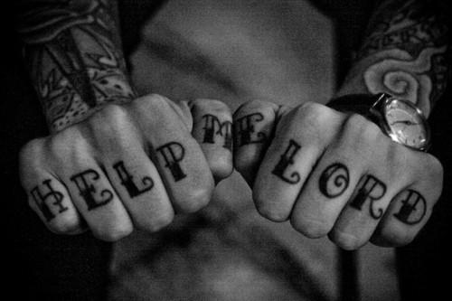 татуировки на пальцах (10)
