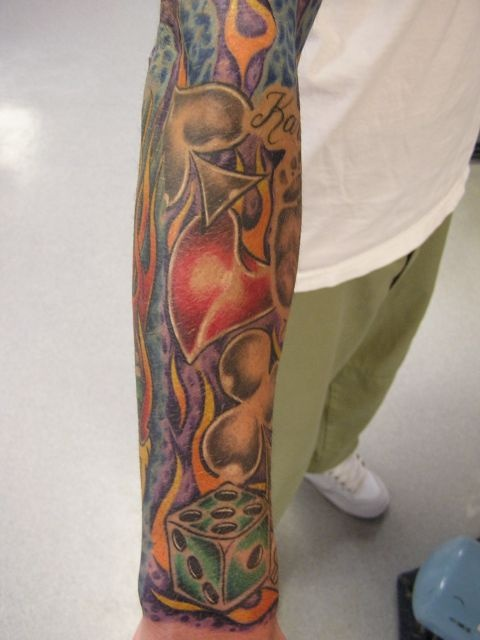 татуировки на руках (28)