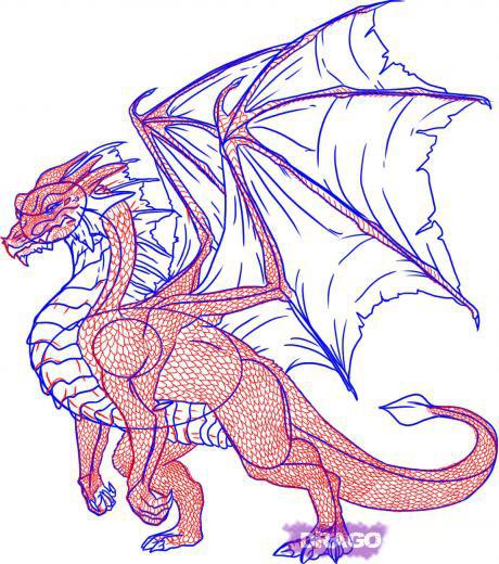 татуировка дракон (20)