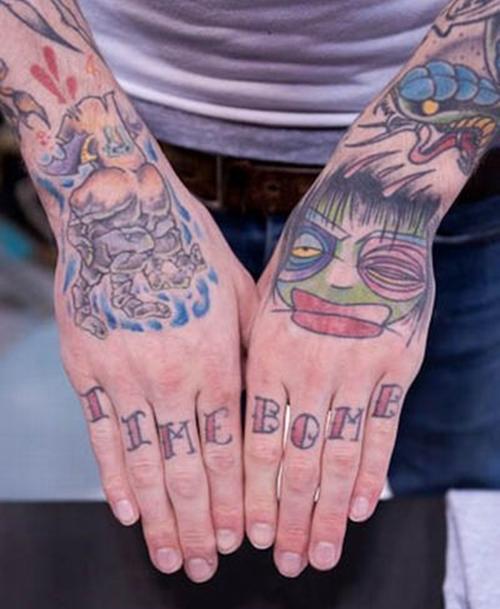 татуировки на пальцах (21)
