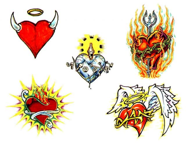 татуировки подарки на день святого валентина (28)