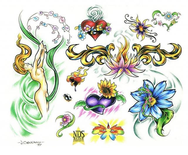эскизы татуировок (8)