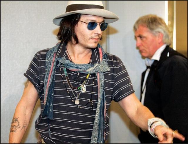 татуировки знаменитостей Johnny Depp