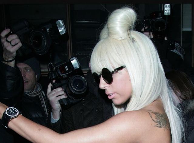 татуировки знаменитостей Lady GaGa