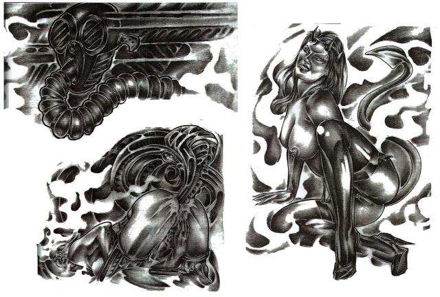 татуировки 3d (9)
