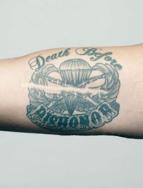Армейские татуировки американских солдат (6)