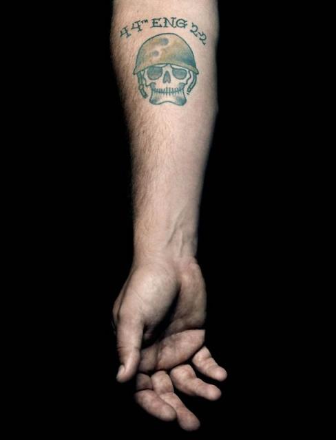 Армейские татуировки американских солдат (2)