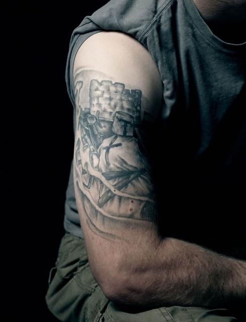 Армейские татуировки американских солдат (9)