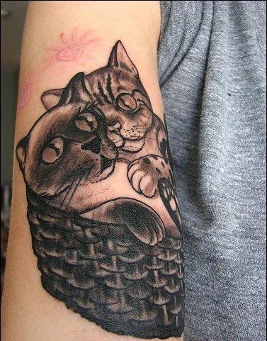 татуировки котов (30)