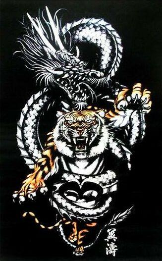 татуировка дракон (18)