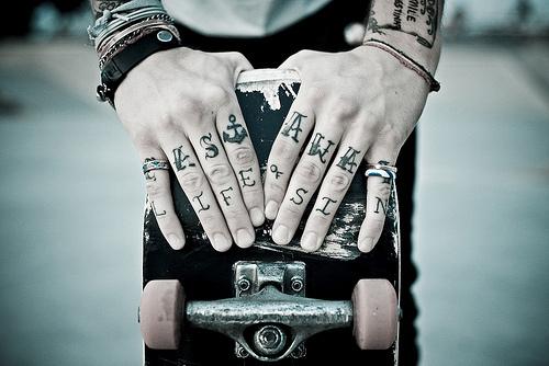 тату на пальцах (6)