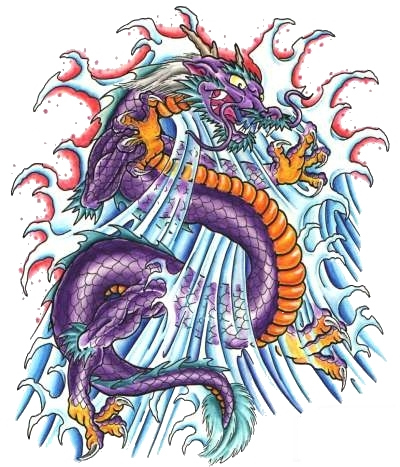 татуировка дракон (11)