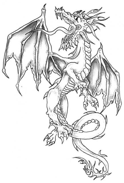 татуировка дракон (10)