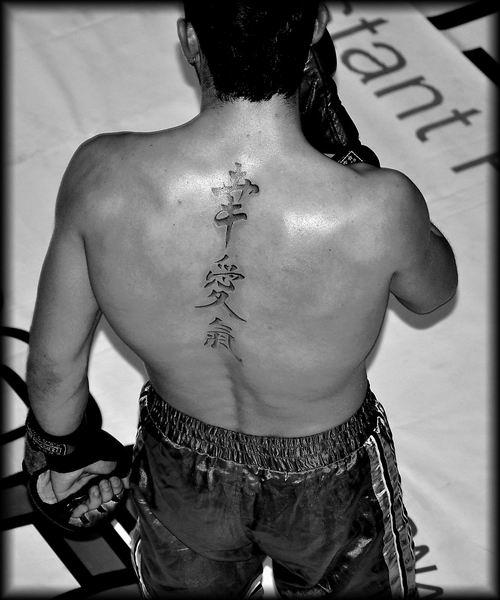 Японские иероглифы татуировки (6)