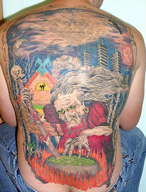 Сказочные татуировки (26)