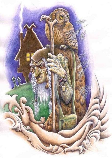 Сказочные татуировки (14)