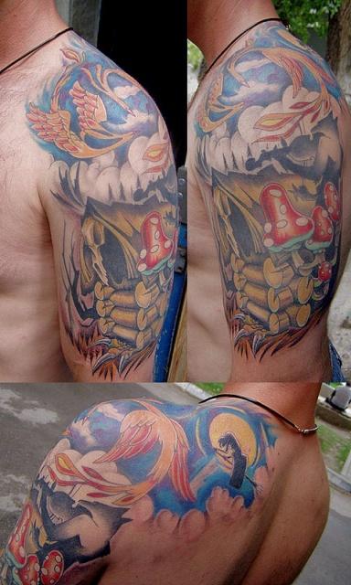 Сказочные татуировки (12)
