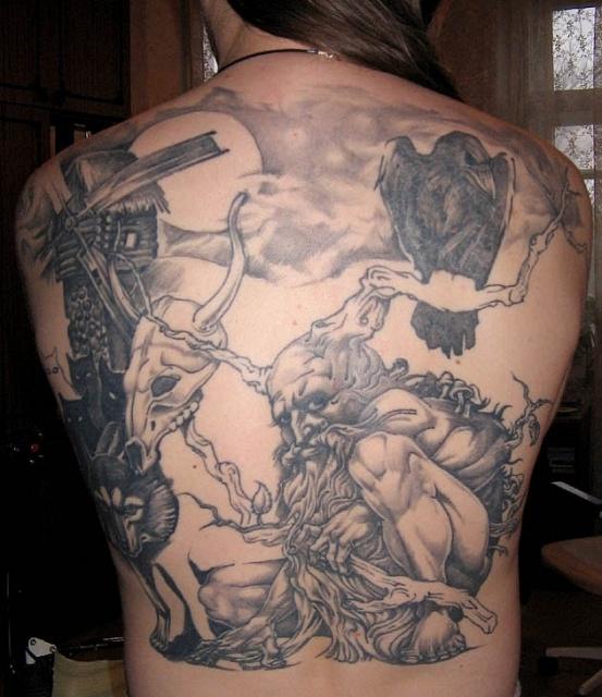 Сказочные татуировки (9)