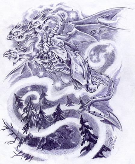 Сказочные татуировки (7)