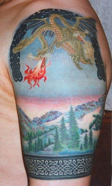 Сказочные татуировки (24)