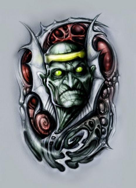 Сказочные татуировки (20)