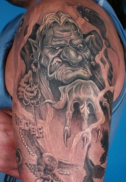 Сказочные татуировки (19)