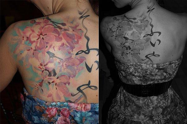 Японские иероглифы татуировки (8)