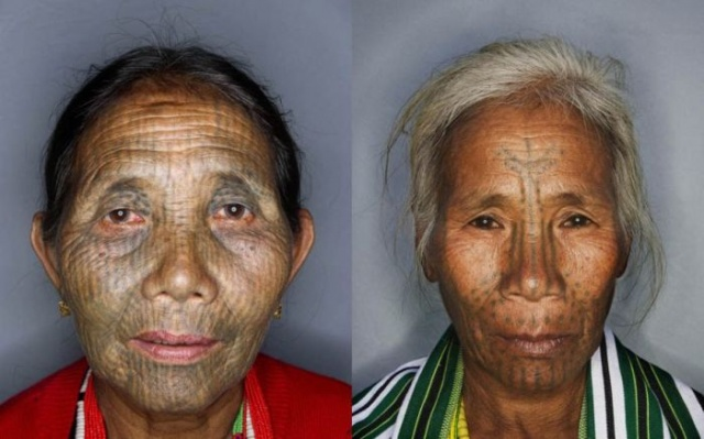 татуировки на лице (1)