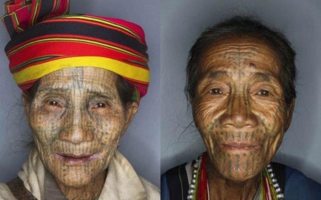 татуировки на лице (5)