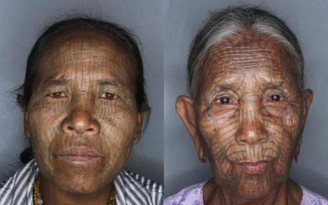 татуировки на лице (2)