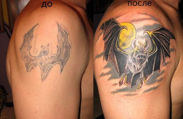 татуировка летучая мышь (26)