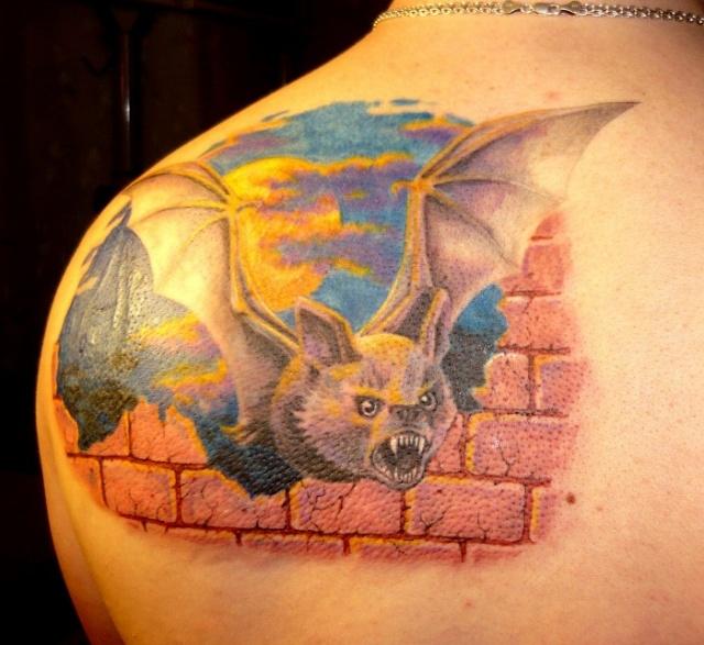 татуировка летучая мышь (20)