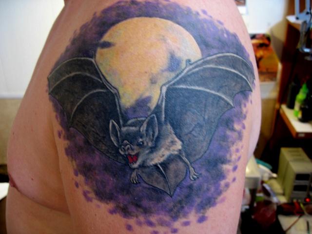 татуировка летучая мышь (35)