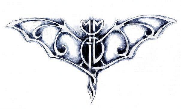татуировка летучая мышь (9)