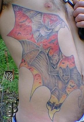 татуировка летучая мышь (8)