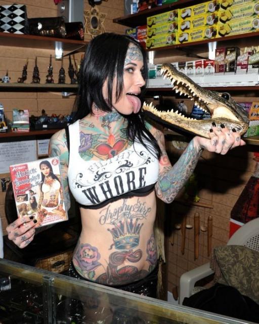 татуировки моделей (17)