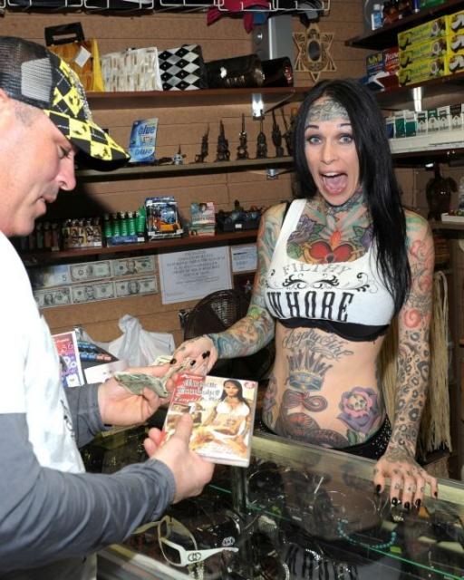 татуировки моделей (15)