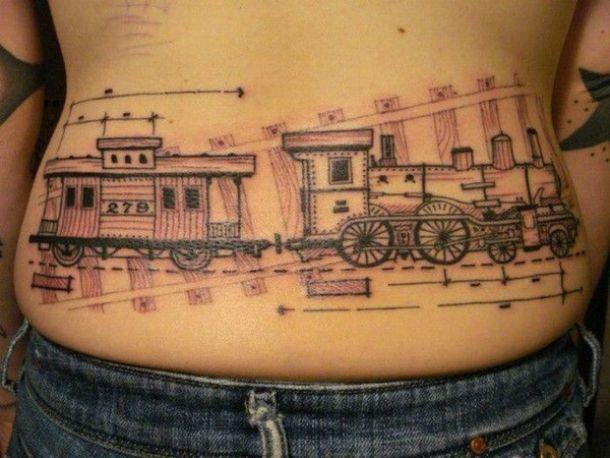 Оригинальные татуировки приколы (39)