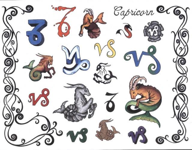 татуировки знаки зодиака (3)