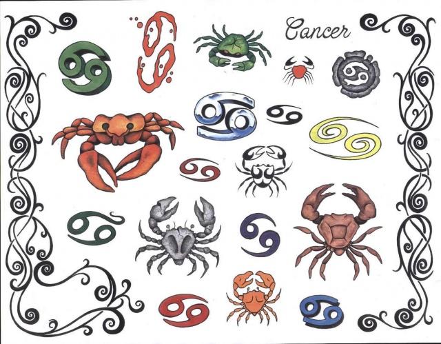 татуировки знаки зодиака (9)