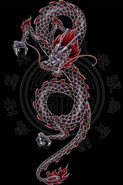 татуировка дракон (9)