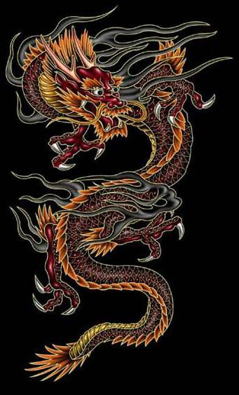 татуировка дракон (5)
