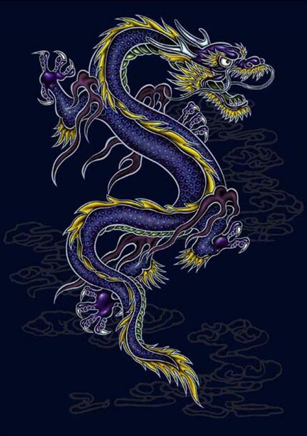 татуировка дракон (4)
