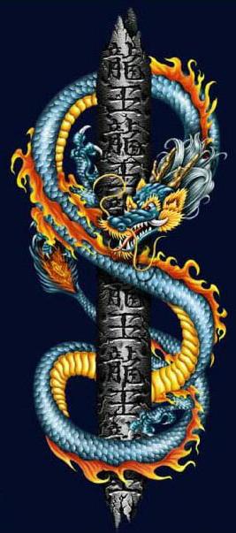 татуировка дракон (8)