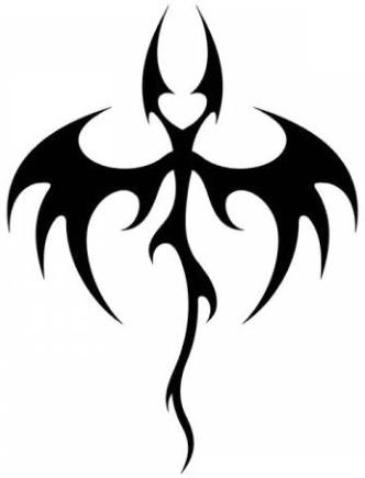 Эскизы татуировки крылья (13)