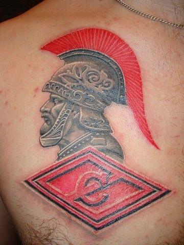 Спортивные татуировки фанатов (78)