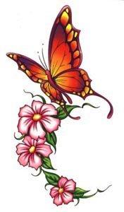 татуировки цветы (27)